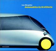 Cover of: Automobiles by architects
