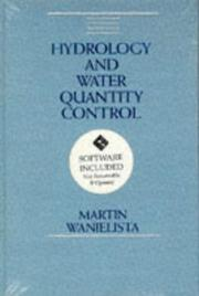 Cover of: Hydrology and water quantity control