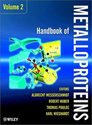 Cover of: Handbook of Metalloproteins |