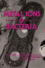 Cover of: Metal ions and bacteria |