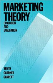 Cover of: Marketing theory