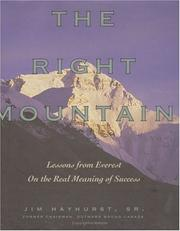 Cover of: The Right Mountain
