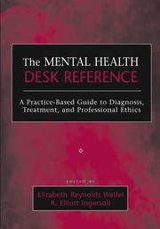 Cover of: The Mental Health Desk Reference |
