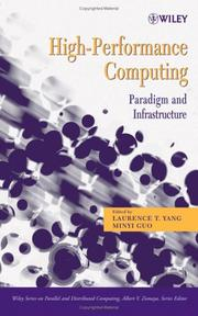 Cover of: High performance computing | [edited by] Laurence Tianruo Yang and Minyi Guo.