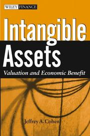 Cover of: Intangible Assets | Jeffrey Cohen