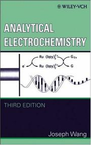 Cover of: Analytical electrochemistry | Joseph Wang