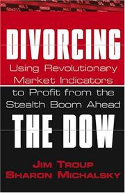 Cover of: Divorcing the Dow | Jim Troup