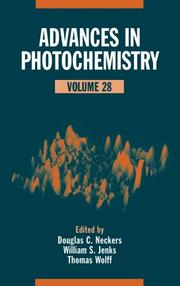 Cover of: Advances in photochemistry by