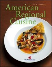 Cover of: American Regional Cuisine | The Art Institutes