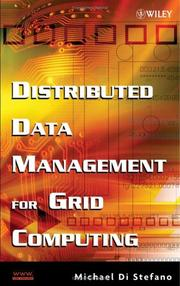 Cover of: Distributed Data Management in Grid Environments | Michael Di Stefano