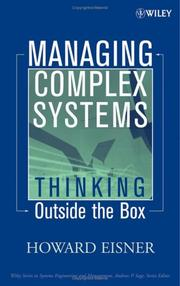 Cover of: Managing Complex Systems