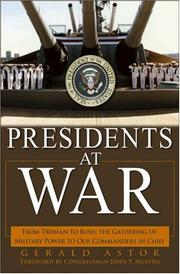 Cover of: Presidents at war