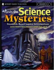 Cover of: Hands-On Science Mysteries for Grades 3-6 | James Robert Taris