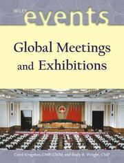 Cover of: Global Meetings and Exhibitions (The Wiley Event Management Series) | Carol, CMP, CMM Krugman