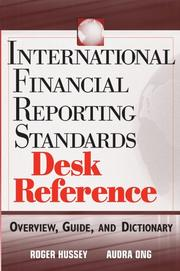 Cover of: International financial reporting standards desk reference