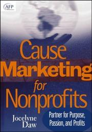 Cause marketing for nonprofits by Jocelyne Daw