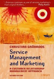 Cover of: Service Management and Marketing  | Christian Grönroos