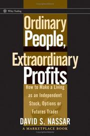 Cover of: Ordinary People, Extraordinary Profits