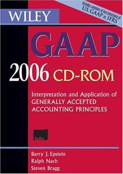 Cover of: Wiley GAAP CD ROM: Interpretation and Application of Generally Accepted Accounting Principles 2006