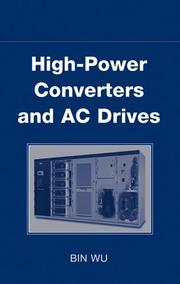 Cover of: High-Power Converters and AC Drives | Bin Wu