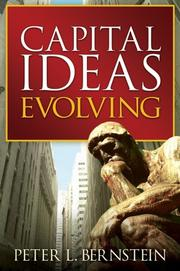 Cover of: Capital Ideas Evolving
