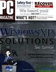 Cover of: PC Magazine Windows XP solutions