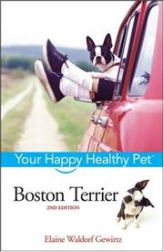 Cover of: Boston Terrier | Elaine Waldorf Gewirtz