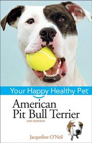 Cover of: American pit bull terrier
