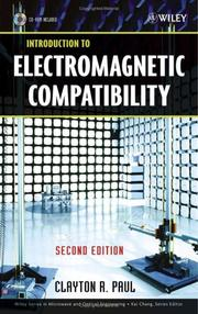 Cover of: Introduction to electromagnetic compatibility | Clayton R. Paul