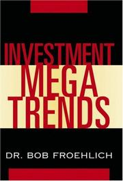 Cover of: Investment megatrends