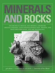 Cover of: Minerals and rocks