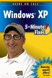 Cover of: Geeks on call Windows XP | King, J. R.
