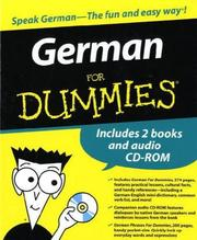 Cover of: German for Dummies® for Boxed Set