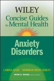 Cover of: Wiley Concise Guides to Mental Health | Larina Kase