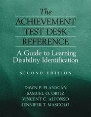 Cover of: The Achievement Test Desk Reference | Dawn P. Flanagan