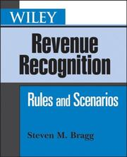 Cover of: Wiley Revenue Recognition: Rules and Scenarios