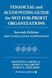 Financial and Accounting Guide for Not-for-Profit Organizations
