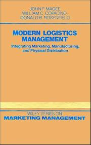 Cover of: Modern logistics management