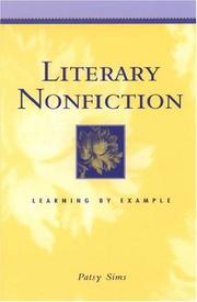 Cover of: Literary Nonfiction