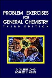 Cover of: Problem exercises for general chemistry