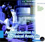 Cover of: An introduction to technical analysis. |