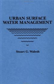 Urban surface water management by S. G. Walesh