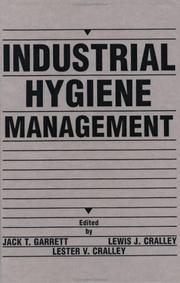 Cover of: Industrial hygiene management |