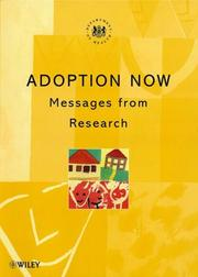 Cover of: Adoption Now | Roy Parker