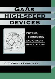Cover of: GaAs high-speed devices