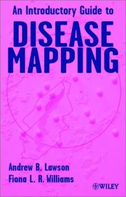 Cover of: An introductory guide to disease mapping |