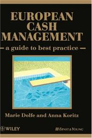 Cover of: European Cash Management | Marie Dolfe