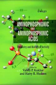 Cover of: Aminophosphonic and aminophosphinic acids |