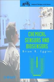 Cover of: Chemical Sensors and Biosensors (Analytical Techniques in the Sciences (AnTs) *) | Brian R. Eggins