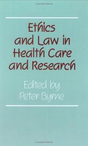 Cover of: Volume 5, Ethics and Law in Health Care and Research